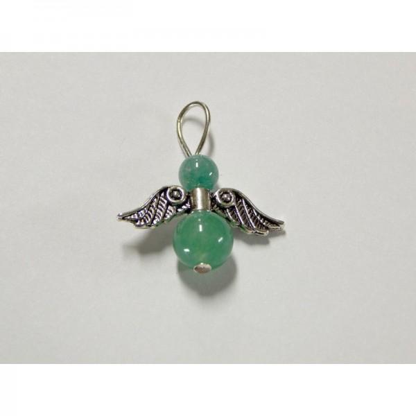 Aventurin (zöld) angyal medál